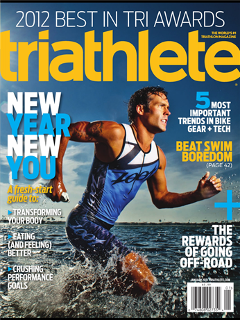 TriathleteMagazine-Jan2013-Cover