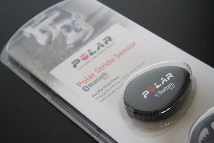Polar Bluetooth Smart Footpod Upper Box