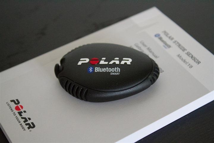 Polar Bluetooth Smart Footpod Unboxed Parts Pod