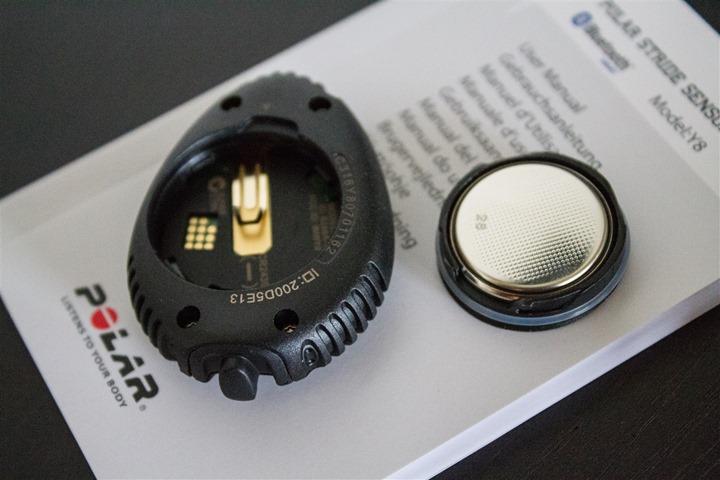 Polar Bluetooth Smart Footpod Changing Battery