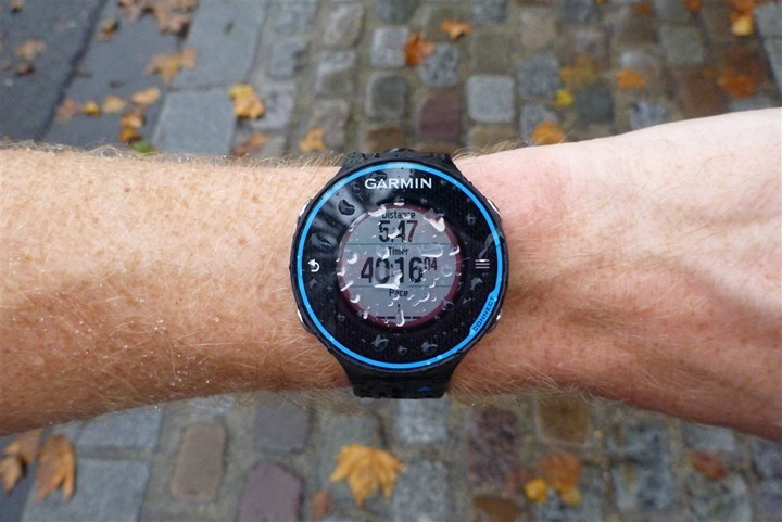 Garmin FR620 Waterproofing