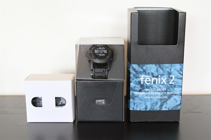 Garmin Fenix2 UnBoxed