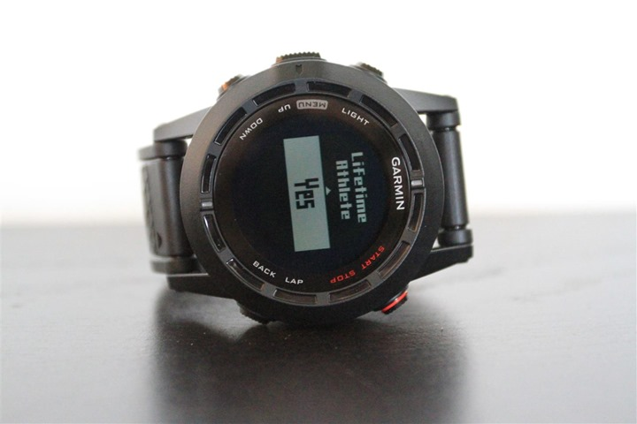 Garmin Fenix2 Front Face Button