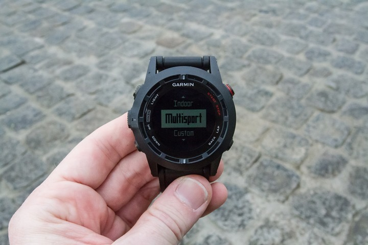 Garmin Fenix2 Multisport Mode