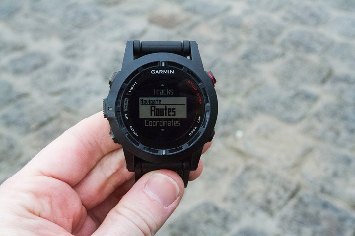 Garmin Fenix2 Hiking and Navigation Mode
