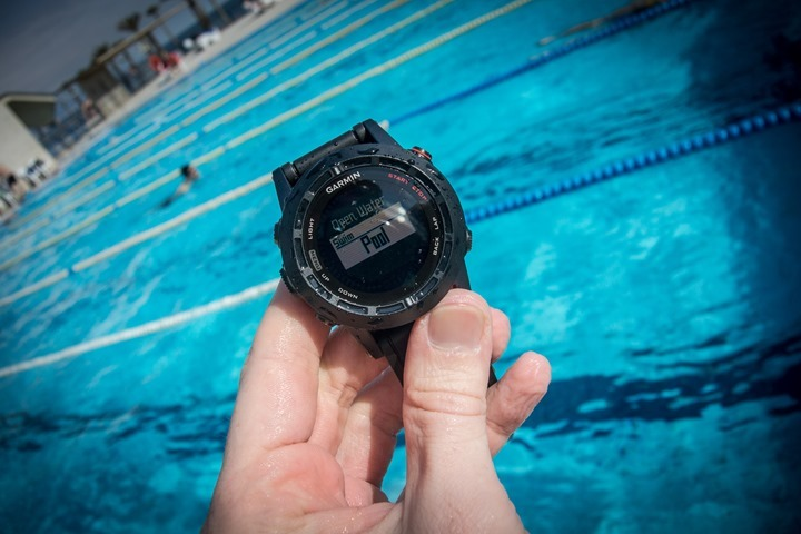Garmin Fenix2 Swimming Pool