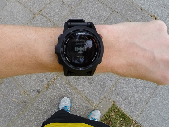 Garmin Fenix2 Run Start Searching GPS