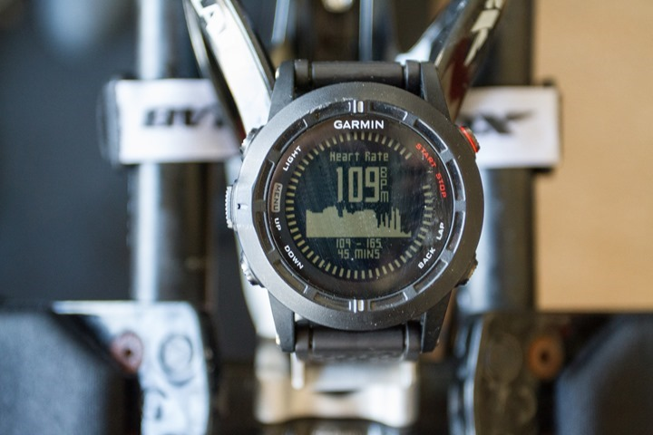 Garmin Fenix2 Data Pages - Graphs