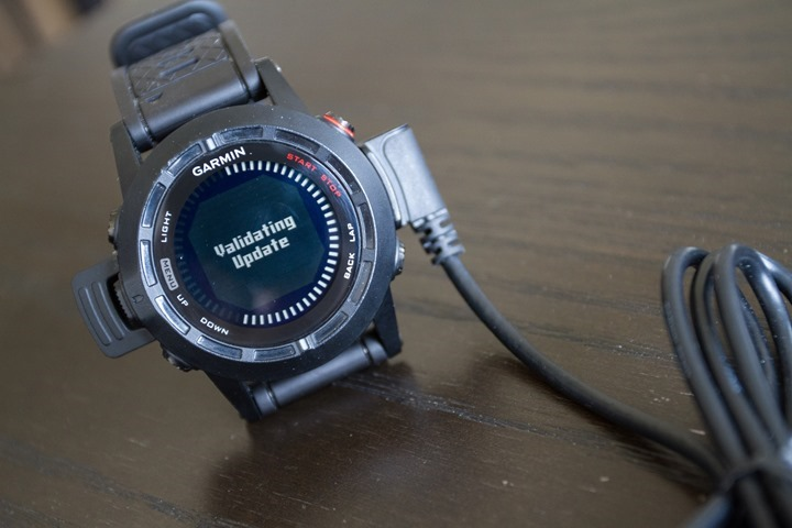Garmin Fenix2 Firmware Updates