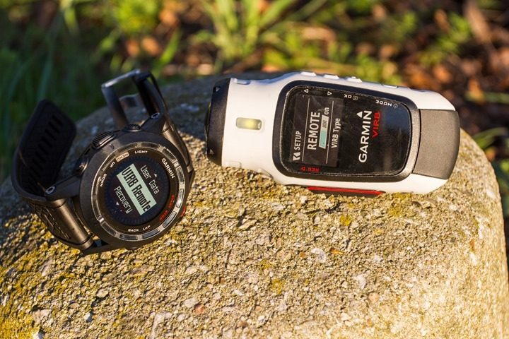 Garmin Fenix2 and VIRB