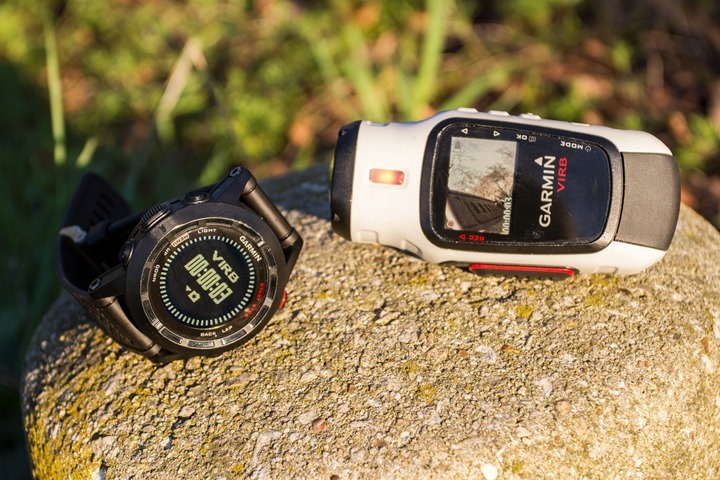 Garmin Fenix2 and VIRB Control Video