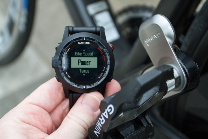 Garmin Fenix2 Power Meter Pairing