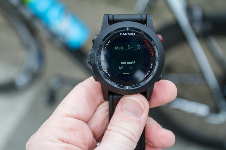 Garmin Fenix2 Left-Right Power Data