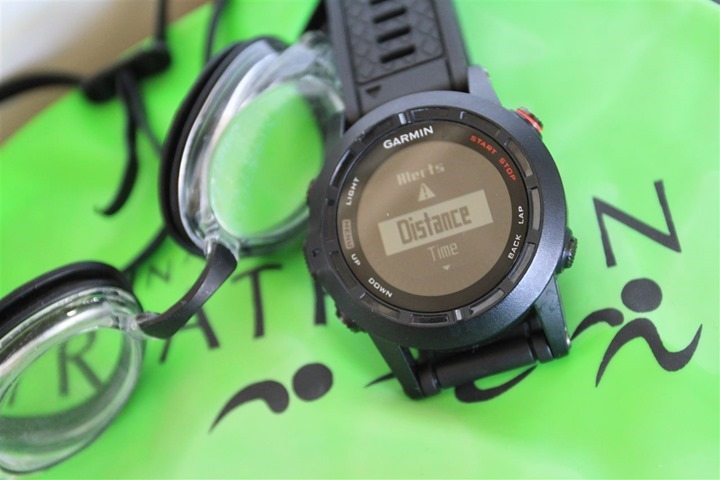 Garmin Fenix2 Swimming Pool Alert Mode