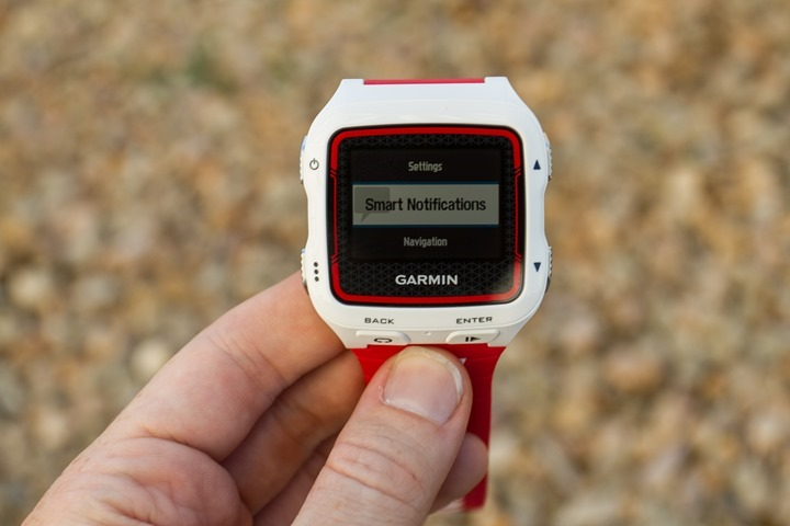 Garmin FR920XT - Smart Notifications