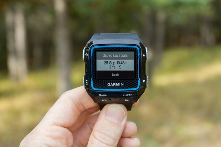Garmin FR920XT - 3ft Rule