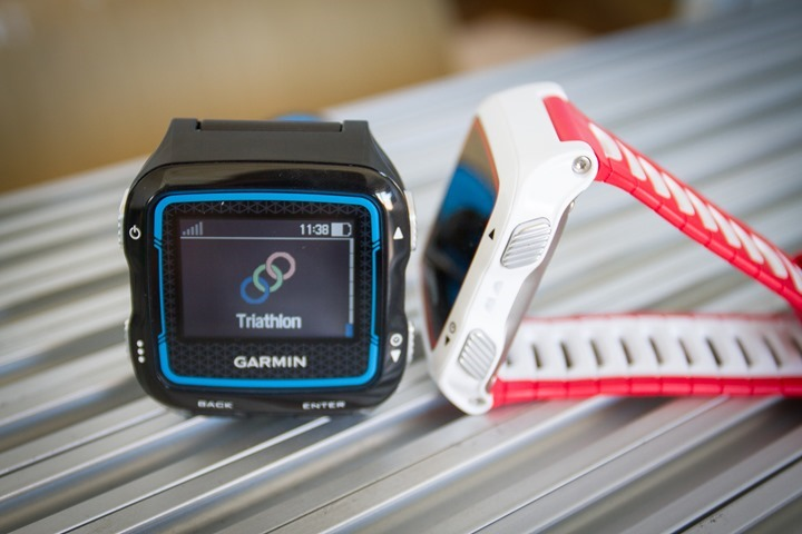 Garmin FR920XT - Triathlon Mode