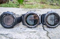 Left to write: Suunto Ambit3 , Fenix3 Sapphire, Fenix3 Grey