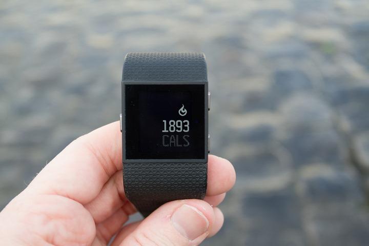 Fitbit-Surge-Calories