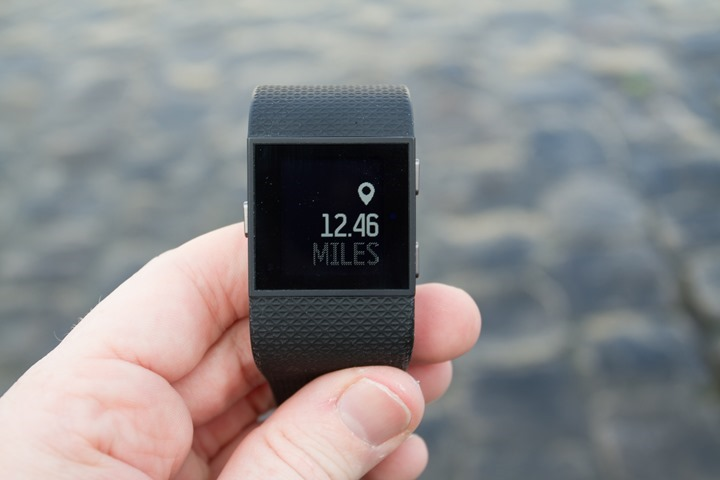 Fitbit-Surge-Distance-Counter