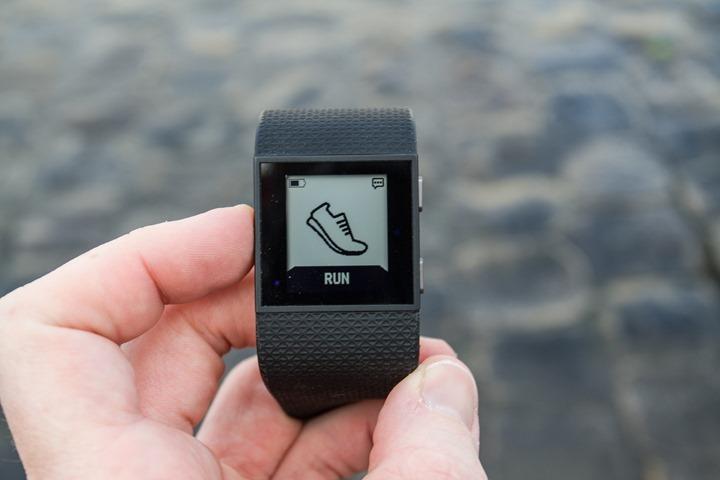 Fitbit-Surge-Run-Mode