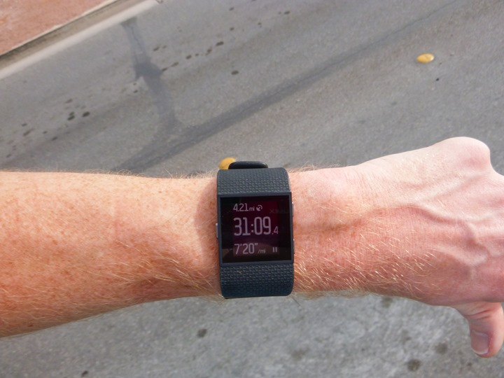 Fitbit-Surge-Running-Pace