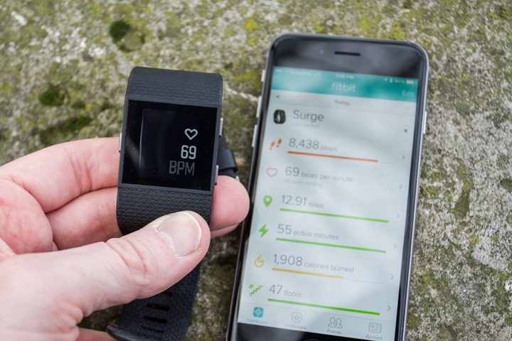Fitbit-Surge-Transmitting-Heart-Rate-Data