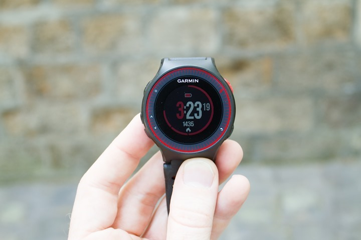 Garmin-FR225-Activity-Calories