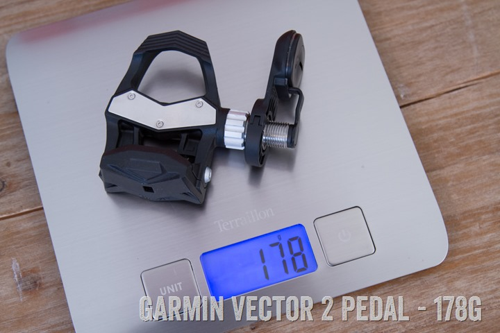 Garmin-Vector2-WEight