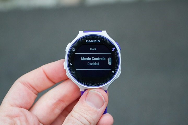 Garmin-FR230-Music-Controls