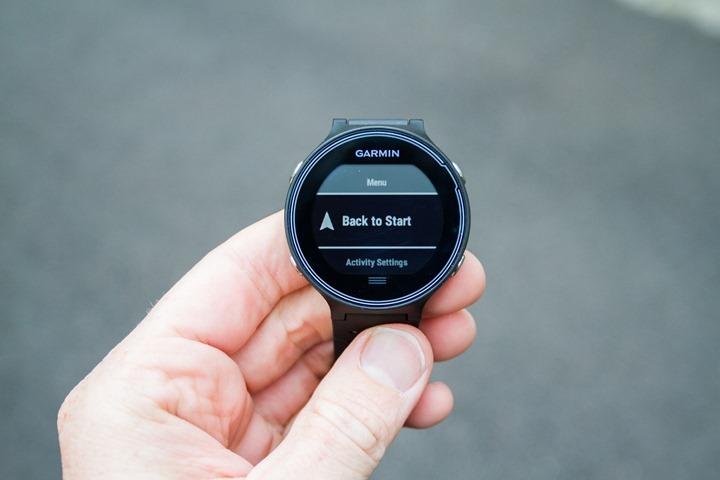 Garmin-FR630-Navigate-BackToStart