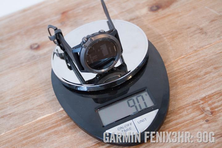 Garmin-Fenix3HR-Weight