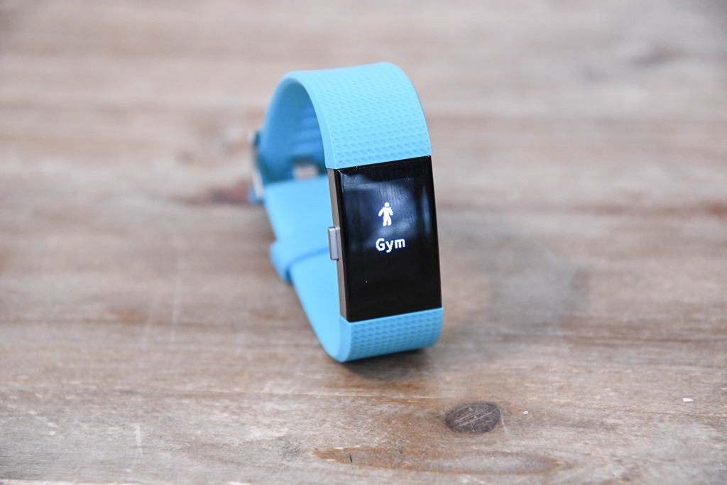 how to start a run with fitbit charge 2