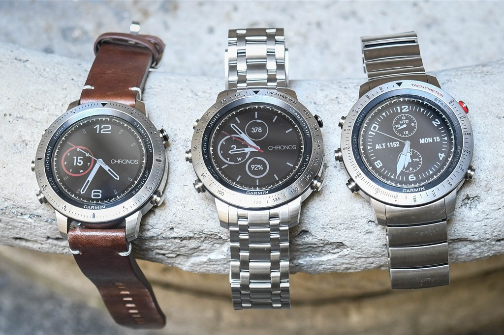 Everything you ever wanted to know: Garmin's new $1,500 Fenix Chronos Watch Series