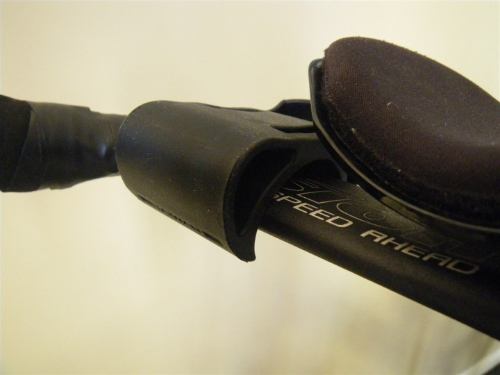 Garmin 405 on aerobars