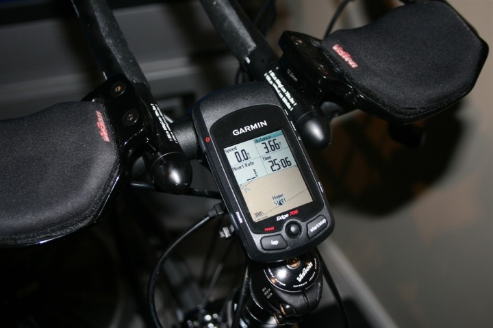 Garmin Edge 705 Correct Mounting