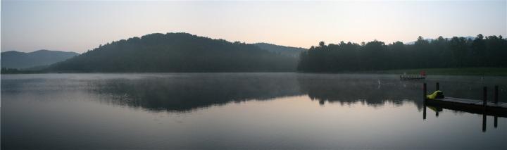 LakeMorningPano