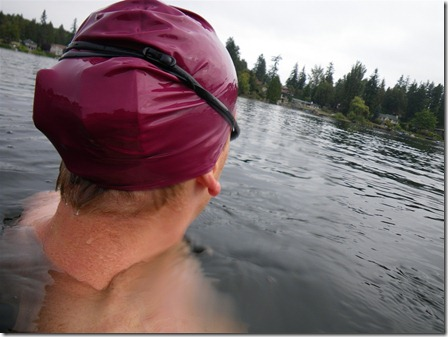 Garmin 310XT and 305 in the swim cap