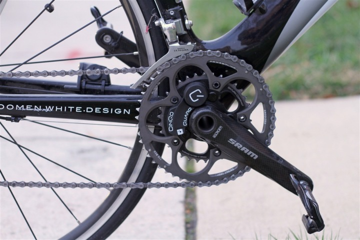 Edge 500 with Quarq Cinqo