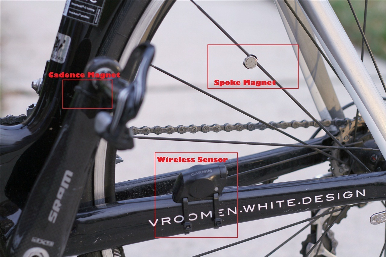 Bicycle Wheel Spoke Computer Spare MAGNET SPEED SENSOR For Garmin Light Weight