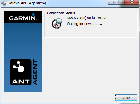 ANT+ Agent Stick in USB Stick