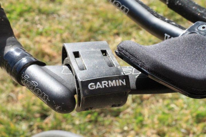 FR-60 Bike Mount on Tri Bike (not really functional)