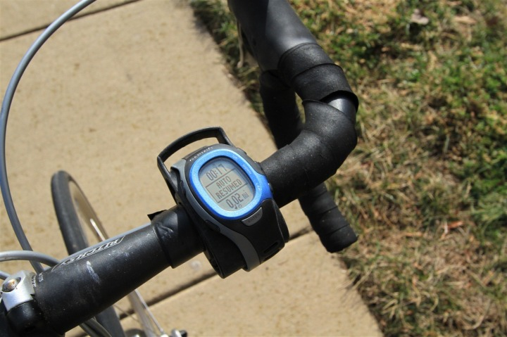 FR-60 on bike mount