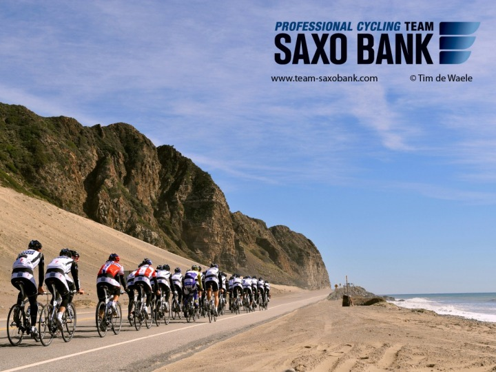 Cycling : Team Saxo Bank / California Training Camp