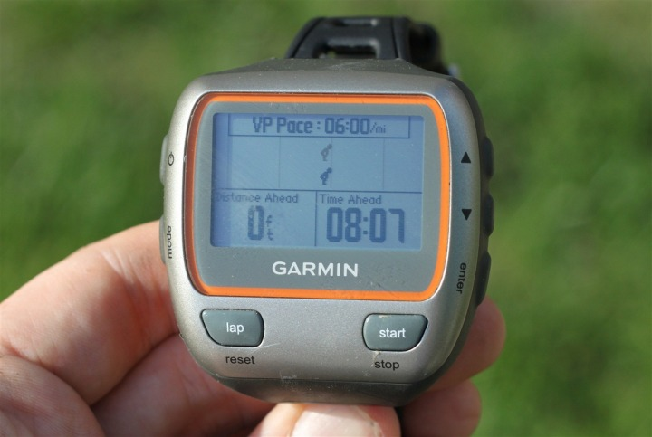 Garmin 310XT Virtual Partner Feature