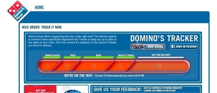 Pizzatracking