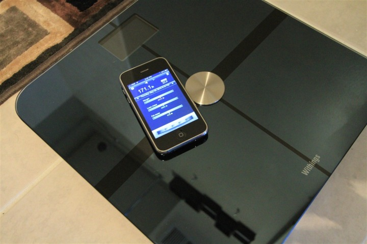 Withings WiFi Scale iPhone Alert