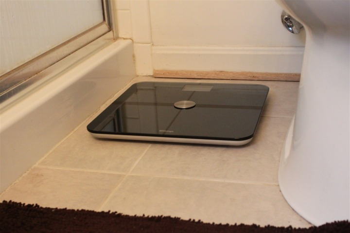 Scale in bathroom #1