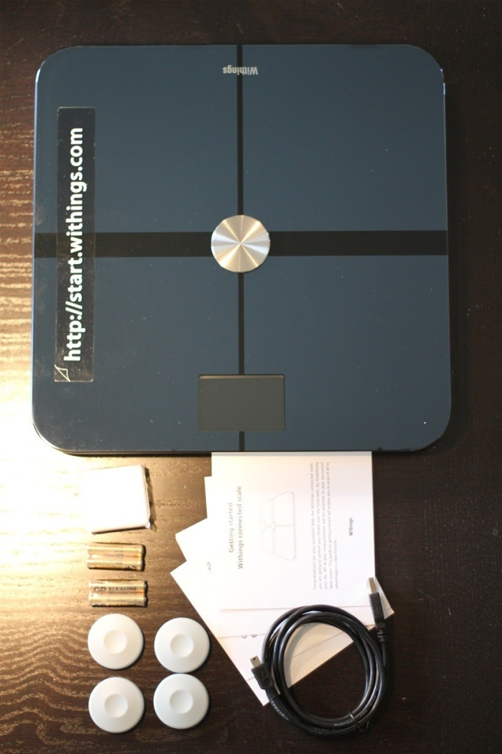 Withings WiFi Scale Components