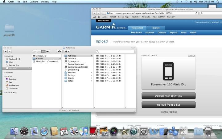 FR110 on Mac